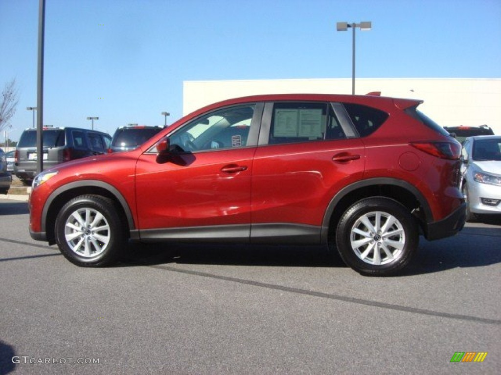 2013 zeal red mica mazda cx 5 touring 74095451 photo 3 car color galleries. Black Bedroom Furniture Sets. Home Design Ideas