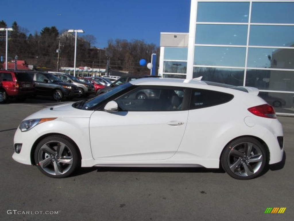 2013 Elite White Pearl Hyundai Veloster Turbo 74095209