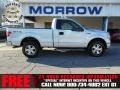 Ingot Silver Metallic 2010 Ford F150 STX Regular Cab 4x4