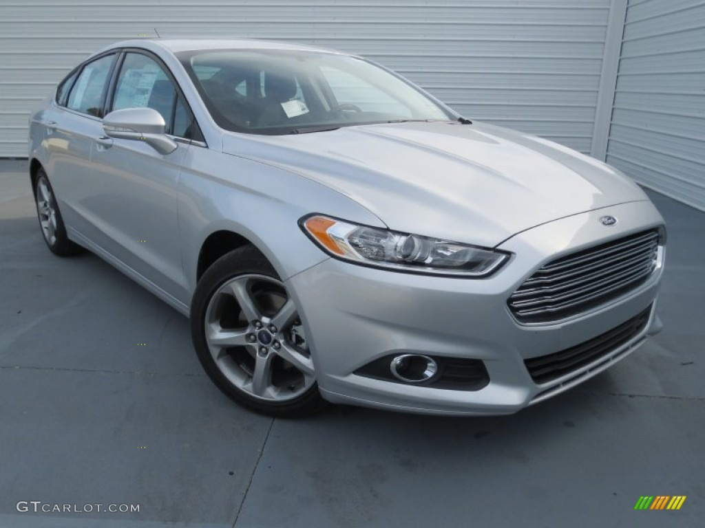 Ingot Silver Metallic 2013 Ford Fusion SE 1.6 EcoBoost Exterior Photo ...