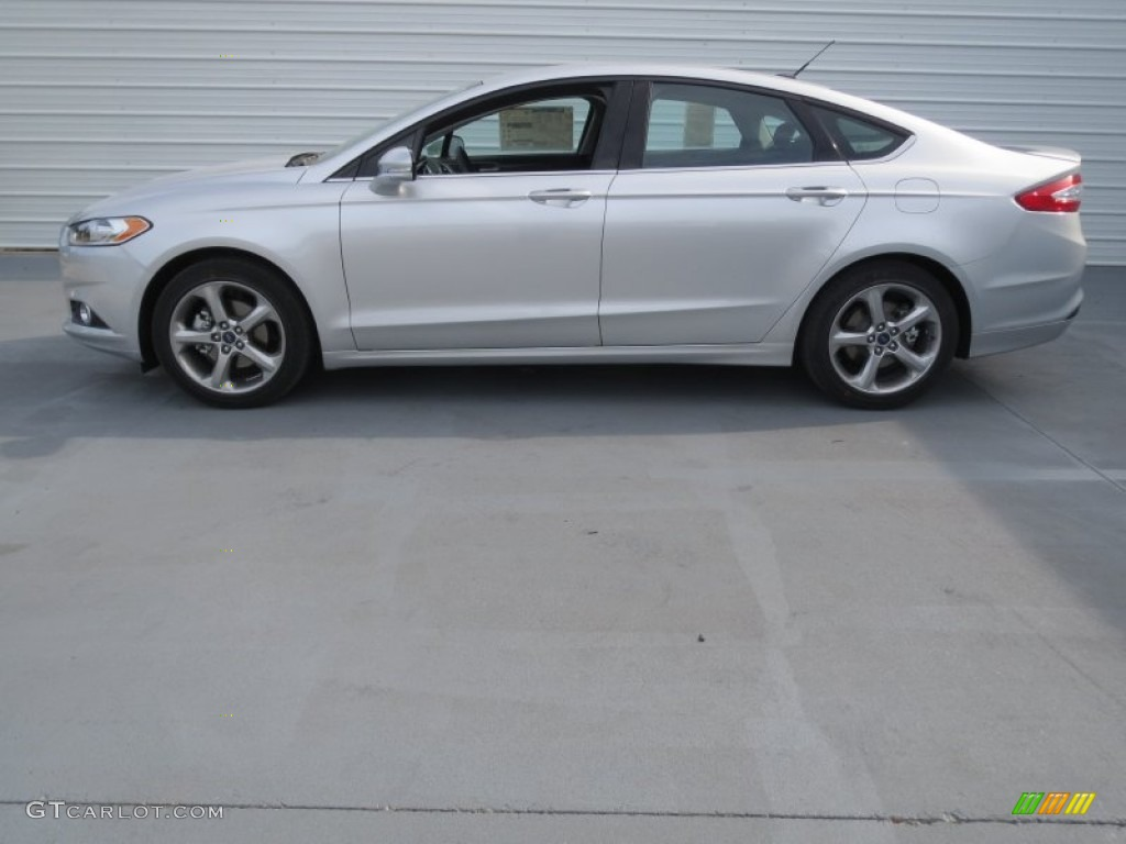 Ingot Silver Metallic 2013 Ford Fusion Se 1 6 Ecoboost Exterior Photo 74132620