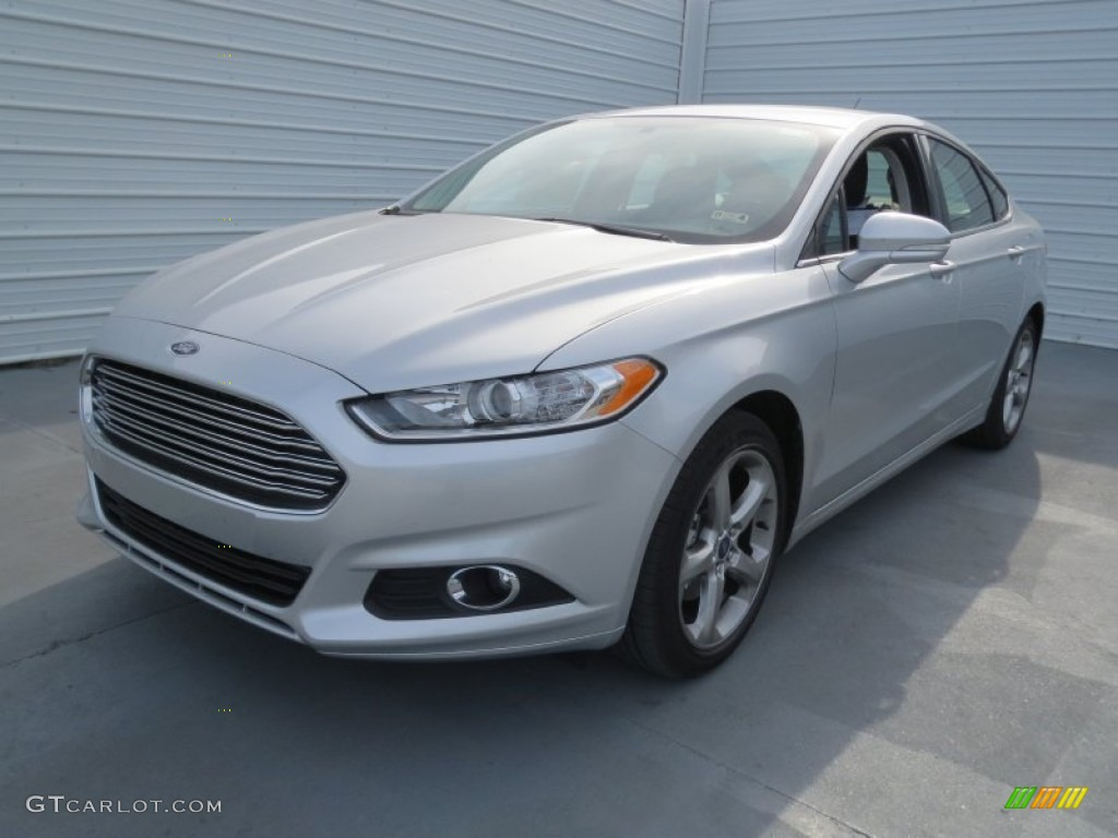 Ingot Silver Metallic 2013 Ford Fusion Se 1 6 Ecoboost Exterior Photo 74132635