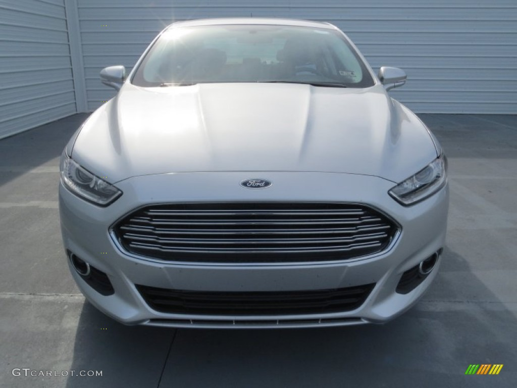 Ingot Silver Metallic 2013 Ford Fusion Se 1 6 Ecoboost Exterior Photo 74132658