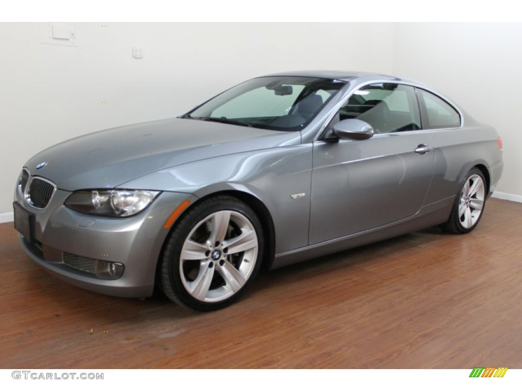 space gray metallic 2007 bmw 3 series 335i coupe exterior. Black Bedroom Furniture Sets. Home Design Ideas