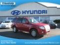 Sangria Red Metallic 2011 Mercury Mariner Premier V6