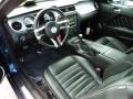 Charcoal Black 2010 Ford Mustang Interiors