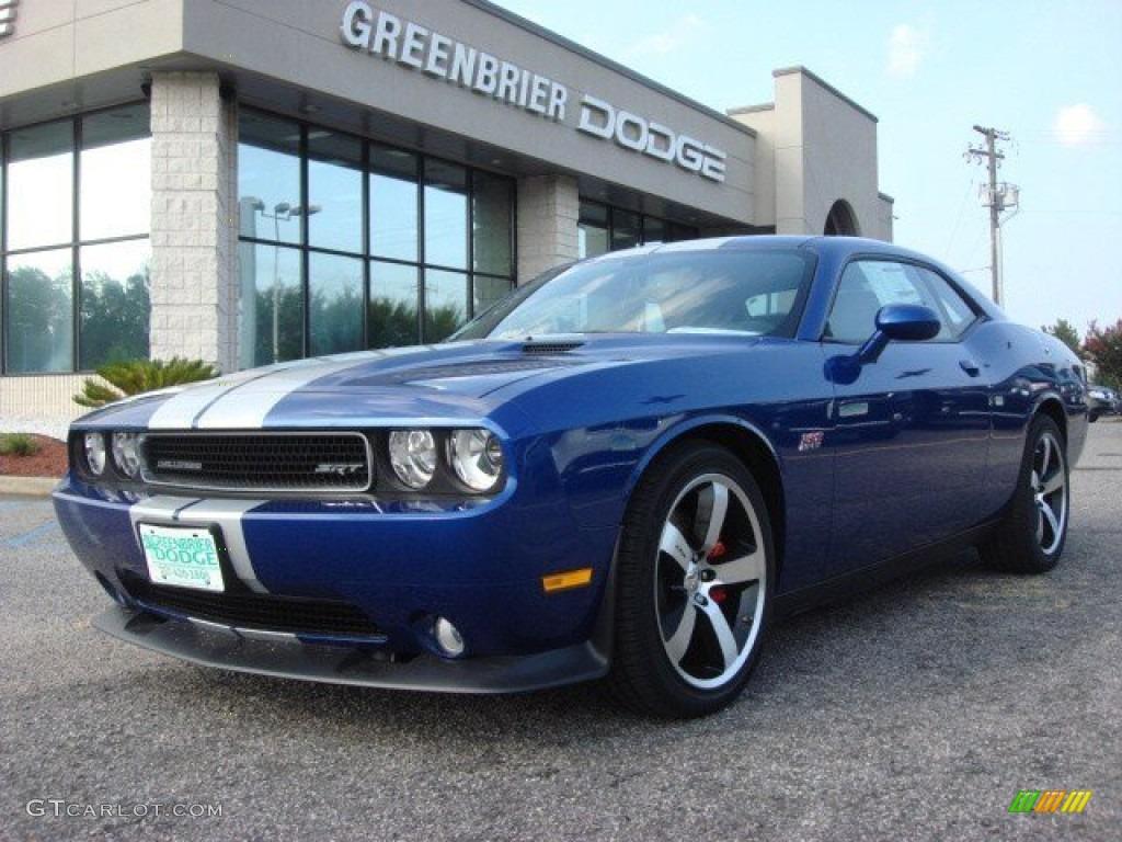 2012 challenger srt8 392 blue streak pearl dark slate gray photo 1 - 2012 Dodge Challenger Srt8 392