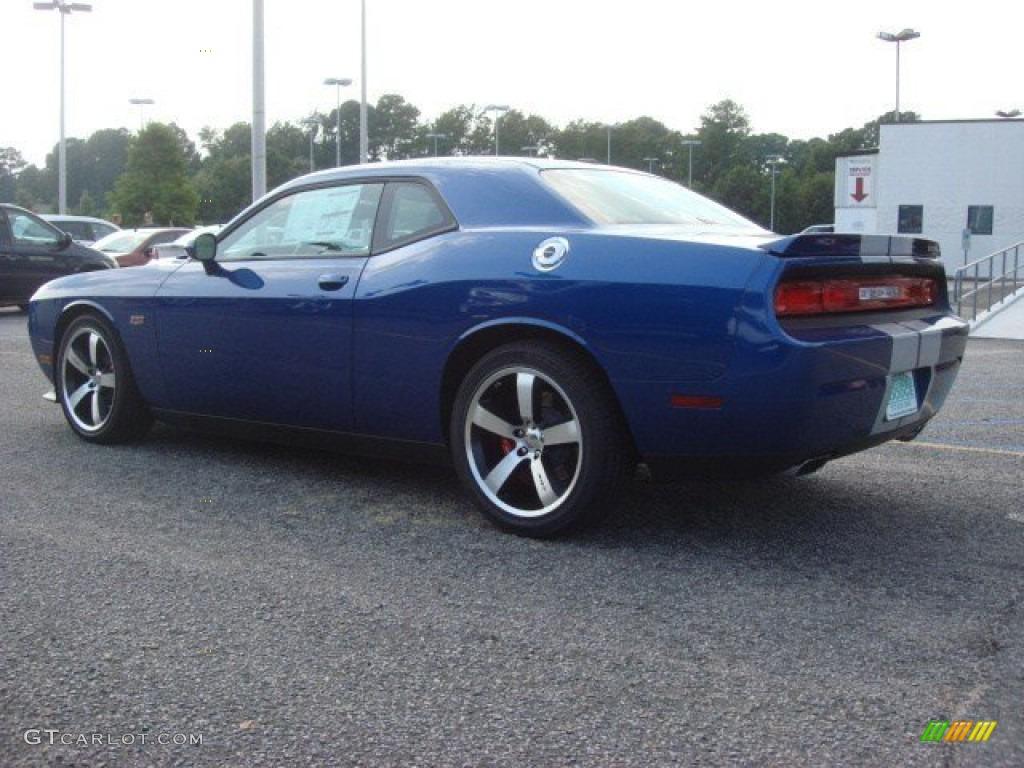 Blue Streak Pearl 2012 Dodge Challenger Srt8 392 Exterior