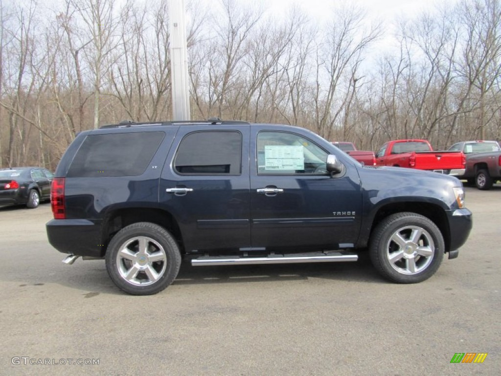 2013 blue ray metallic chevrolet tahoe lt 4x4 74156931 photo 7 car color. Black Bedroom Furniture Sets. Home Design Ideas