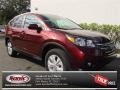 2013 Basque Red Pearl II Honda CR-V EX-L  photo #1