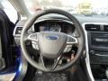 Charcoal Black Steering Wheel Photo for 2013 Ford Fusion #74184016