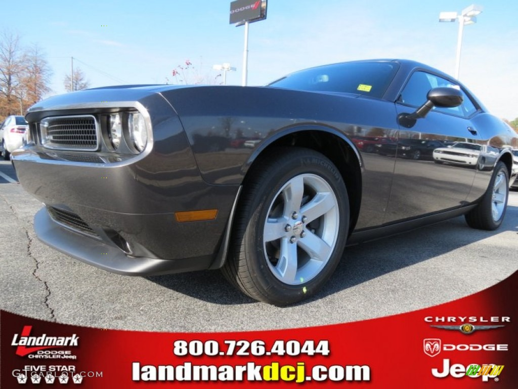 2013 Challenger SXT - Granite Crystal Metallic / Dark Slate Gray photo #1