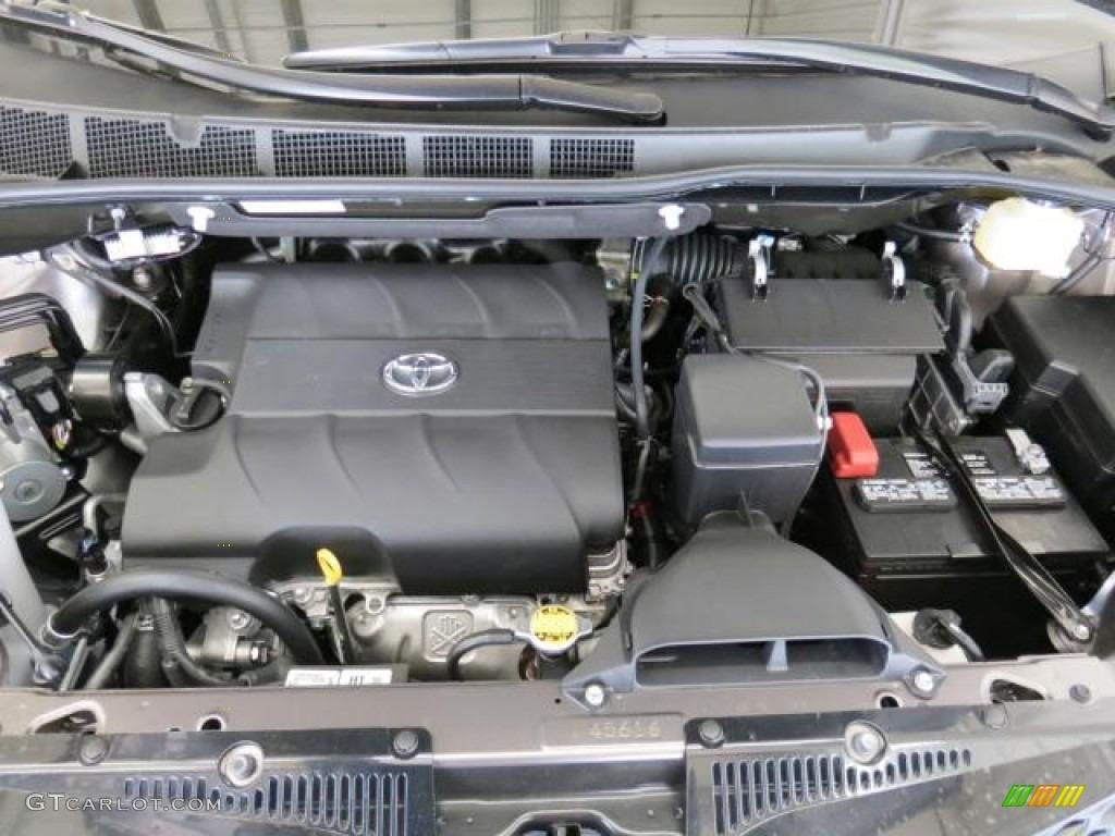 2013 Toyota Sienna Se 3 5 Liter Dohc 24