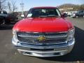 2013 Victory Red Chevrolet Silverado 1500 Work Truck Regular Cab 4x4  photo #2