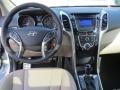 Beige Dashboard Photo for 2013 Hyundai Elantra #74206240