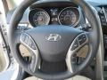Beige Steering Wheel Photo for 2013 Hyundai Elantra #74206339