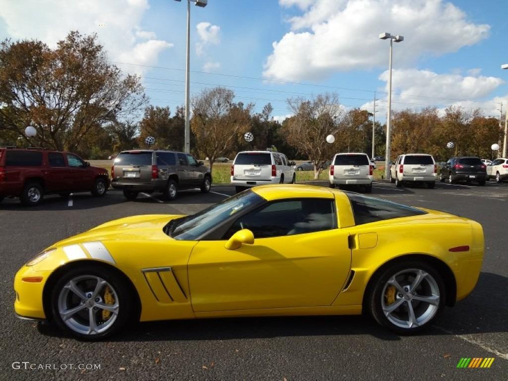 velocity yellow 2012 chevrolet corvette grand sport coupe exterior photo 74209611. Black Bedroom Furniture Sets. Home Design Ideas