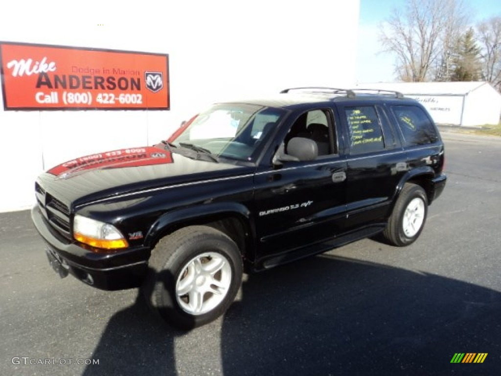 2000 durango r t 4x4 black agate black photo 1