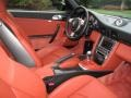 2007 Porsche 911 Black/Terracotta Interior Interior Photo
