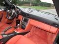 2007 Porsche 911 Black/Terracotta Interior Dashboard Photo