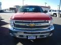 2012 Victory Red Chevrolet Silverado 1500 LT Crew Cab 4x4  photo #8
