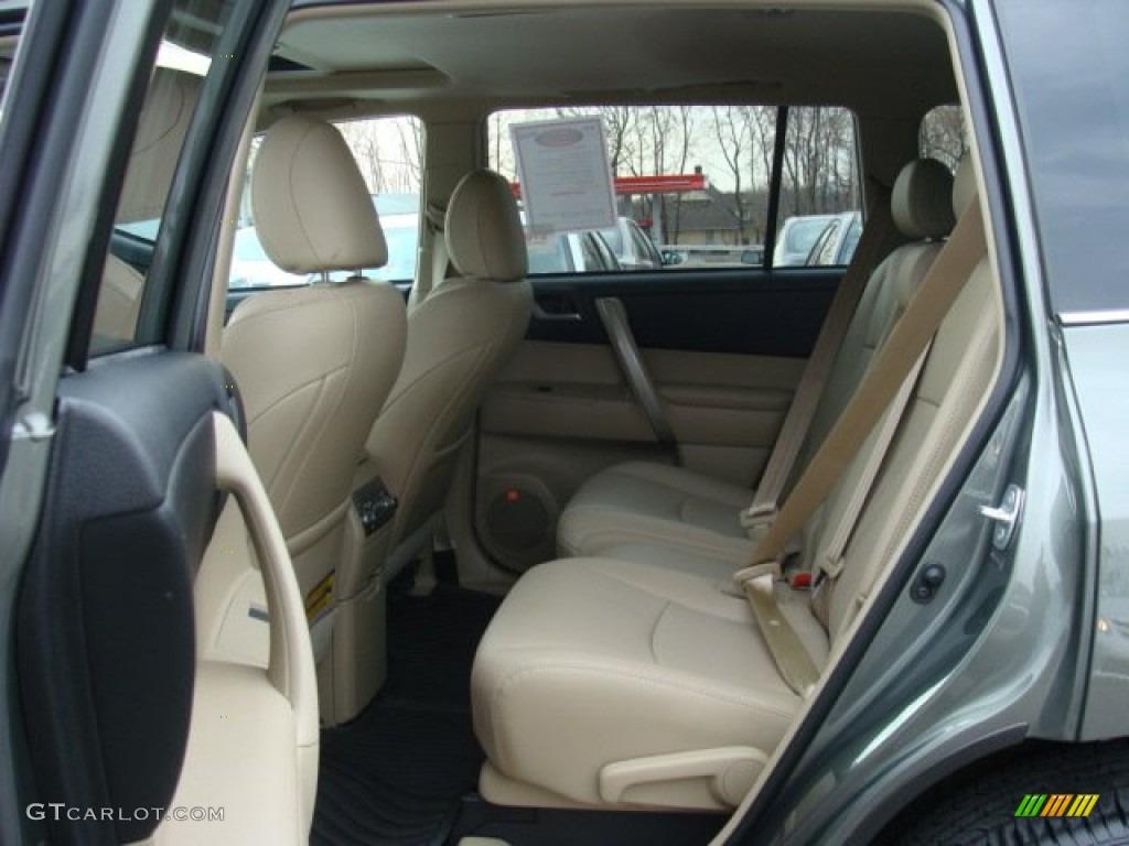 Sand Beige Interior 2012 Toyota Highlander Se 4wd Photo 74231513