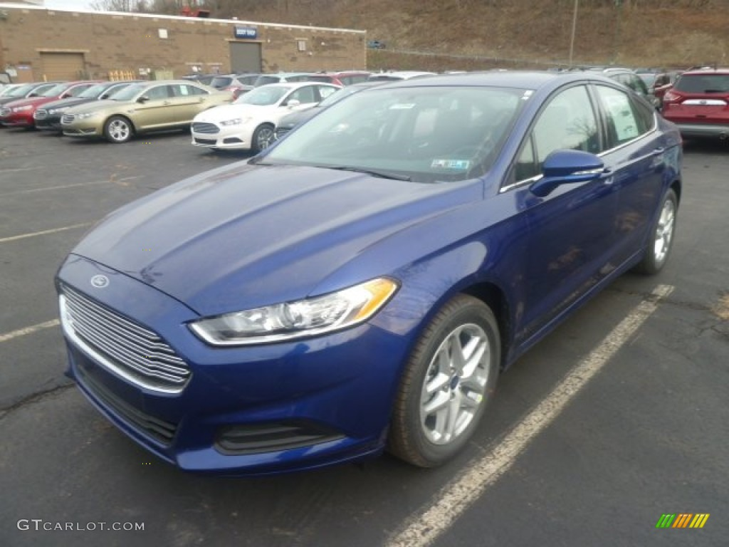 Deep Impact Blue Metallic 2013 Ford Fusion Se Exterior Photo 74231657