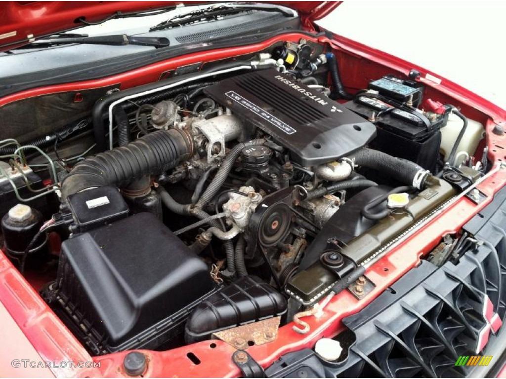2001 Mitsubishi Montero Sport 3.5XS 4x4 Engine Photos   GTCarLot.com