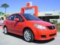 Vivid Red - SX4 Sport Sedan Photo No. 1