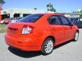Vivid Red - SX4 Sport Sedan Photo No. 7