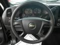 Ebony Steering Wheel Photo for 2008 Chevrolet Silverado 1500 #74248977