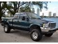 Dark Tourmaline Metallic 1999 Ford F350 Super Duty Lariat SuperCab 4x4 Exterior