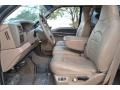Medium Prairie Tan 1999 Ford F350 Super Duty Lariat SuperCab 4x4 Interior Color