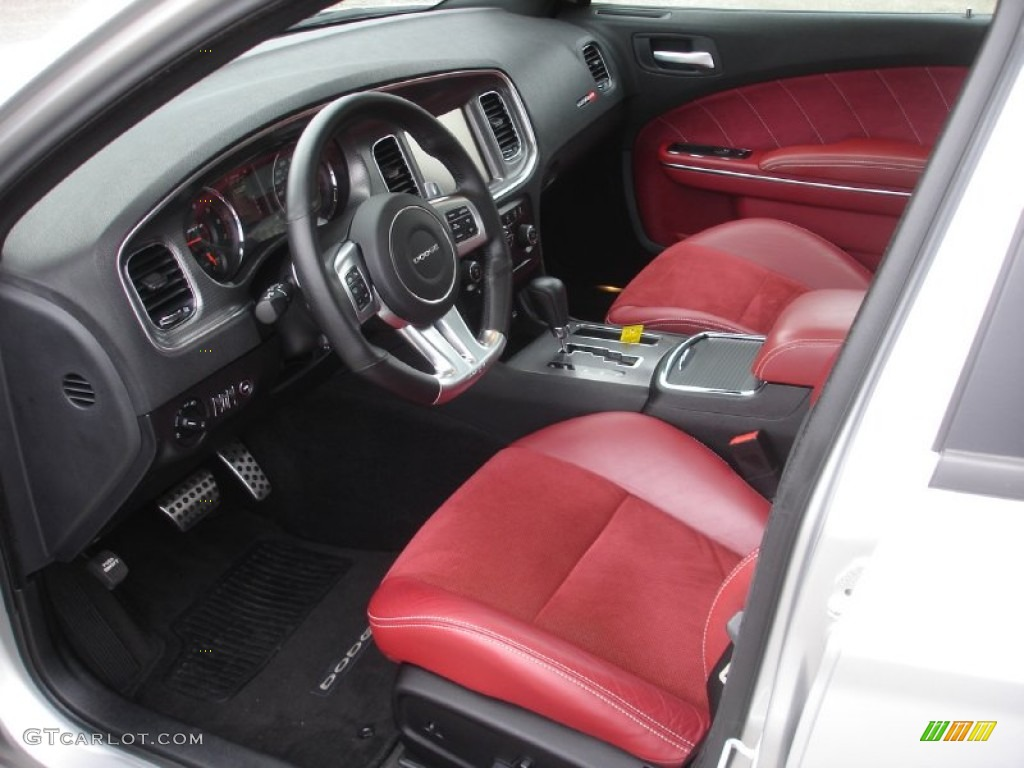 Black Red Interior 2012 Dodge Charger Srt8 Photo 74252164