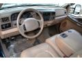 1999 Ford F350 Super Duty Medium Prairie Tan Interior Dashboard Photo