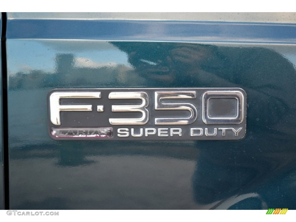 1999 Ford F350 Super Duty Lariat SuperCab 4x4 Marks and Logos Photo #74252656