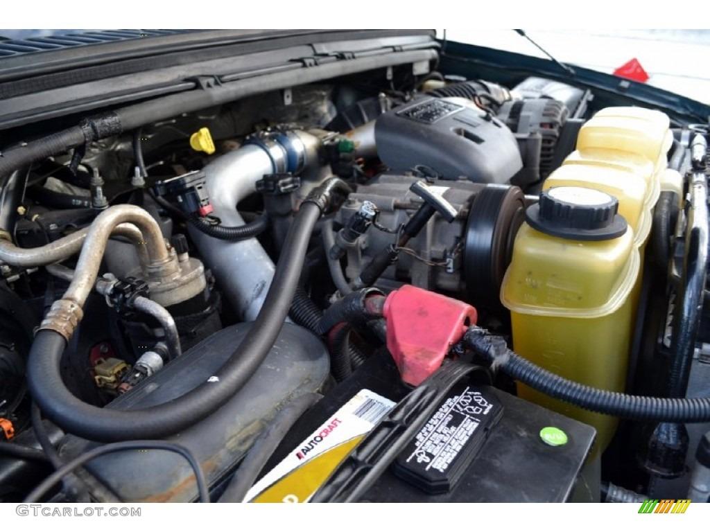 1999 Ford F350 Super Duty Lariat SuperCab 4x4 7.3 Liter OHV 16-Valve Power Stroke Turbo-Diesel V8 Engine Photo #74252680