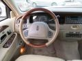 2002 Lincoln Town Car Light Parchment Interior Steering Wheel Photo
