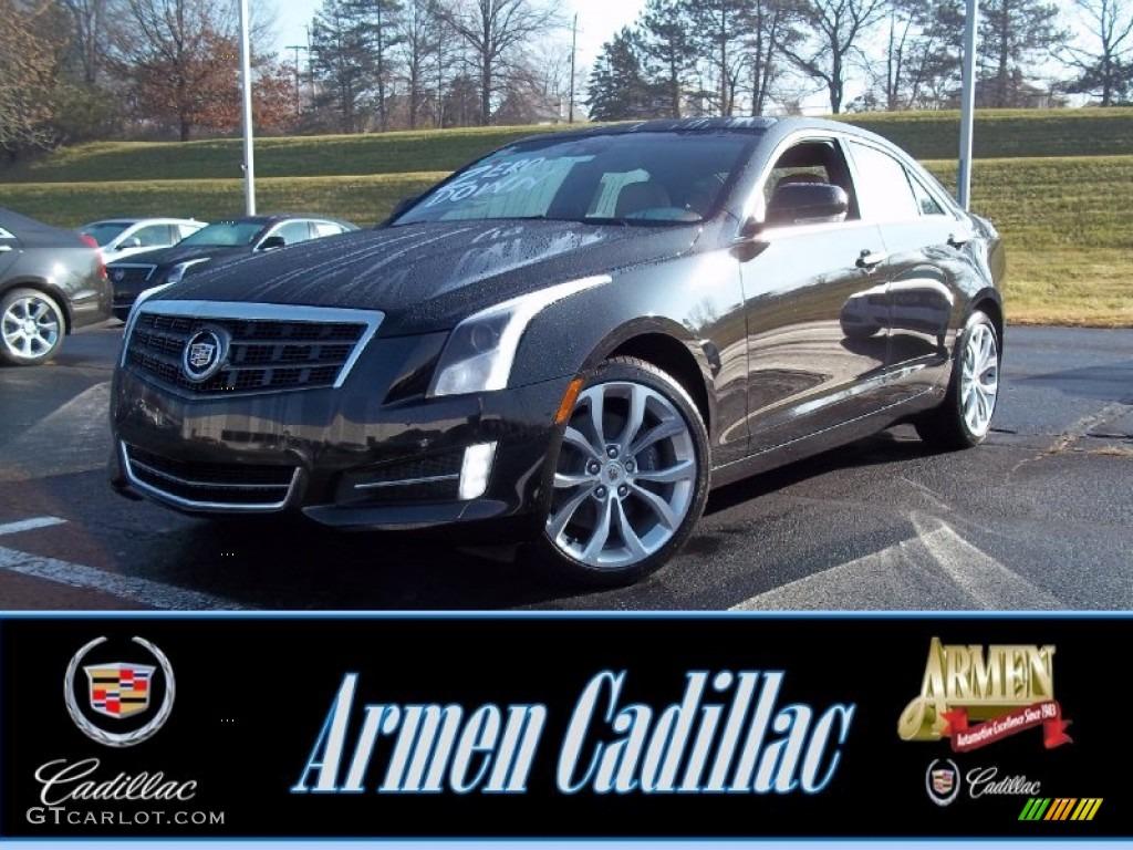 2013 Cadillac Ats 2 0 L Turbo >> 2013 Black Diamond Tricoat Cadillac Ats 2 0l Turbo Performance Awd