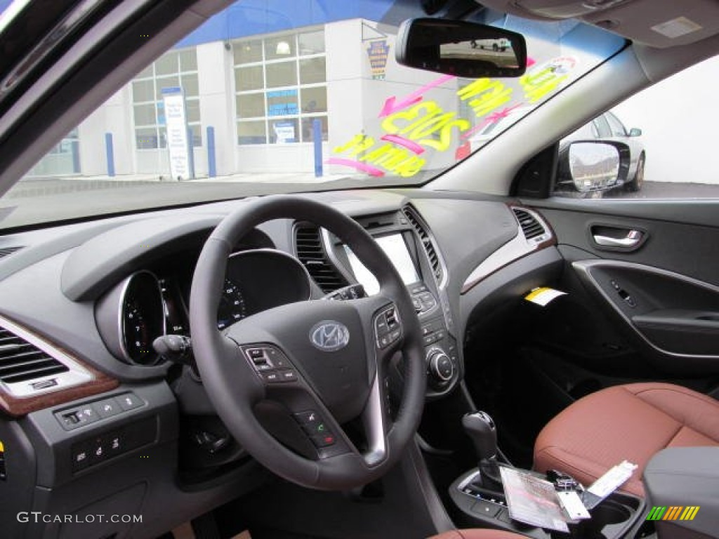 Saddle Interior 2013 Hyundai Santa Fe Sport 2 0t Awd Photo