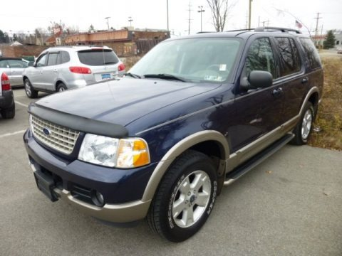 2003 Ford Explorer Eddie Bauer 4x4 Data, Info and Specs