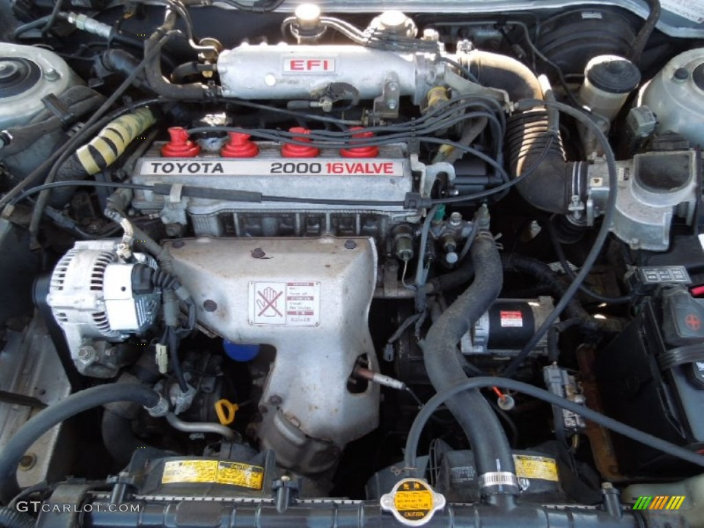1991 Toyota Camry Deluxe Sedan Engine Photos