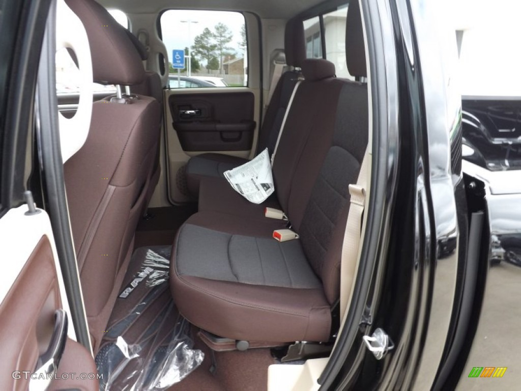 canyon brown light frost beige interior 2013 ram 1500 lone star quad cab photo 74266552. Black Bedroom Furniture Sets. Home Design Ideas