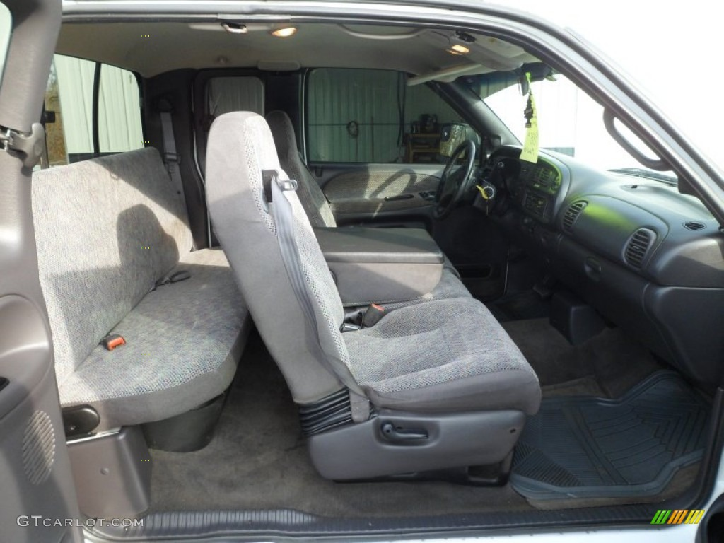 mist gray interior 2001 dodge ram 2500 slt quad cab photo. Black Bedroom Furniture Sets. Home Design Ideas