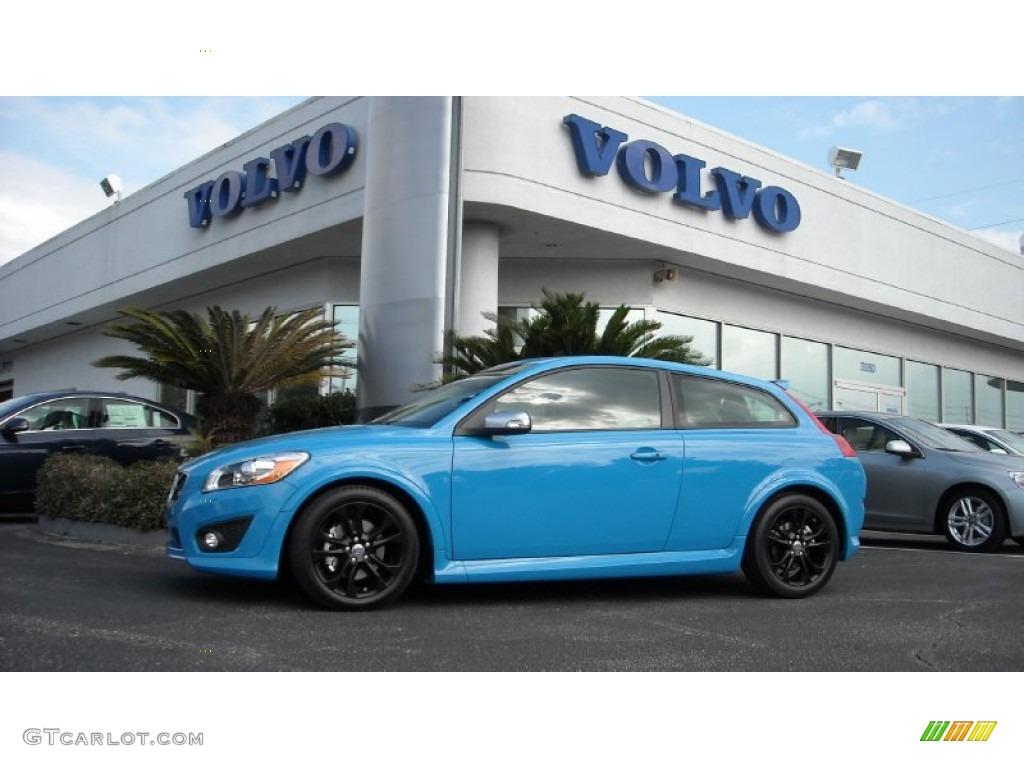2013 polestar rebel blue volvo c30 t5 polestar limited