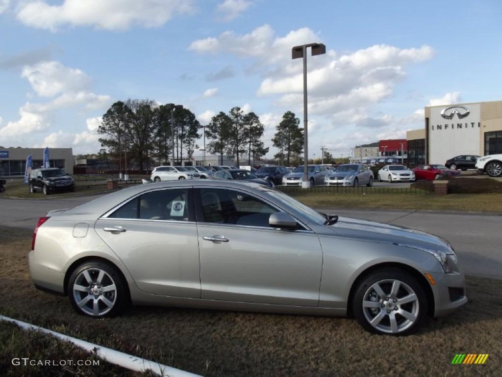 2013 Silver Coast Metallic Cadillac Ats 2 5l 74256400