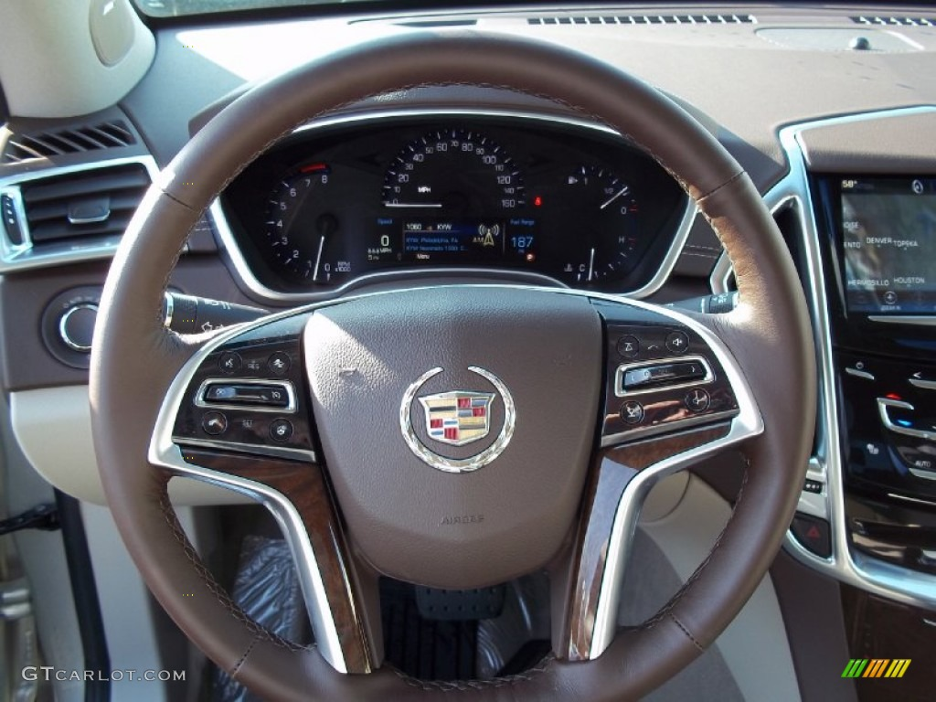2013 Silver Coast Metallic Cadillac Srx Luxury Fwd 74256012 Photo 13 Car