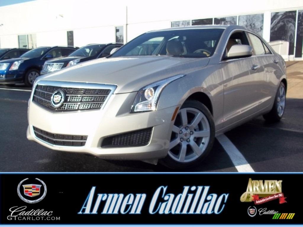 2013 Silver Coast Metallic Cadillac Ats 2 5l 74256008