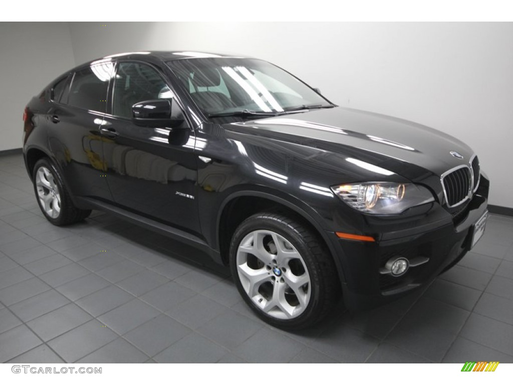 black sapphire metallic 2010 bmw x6 xdrive35i exterior. Black Bedroom Furniture Sets. Home Design Ideas