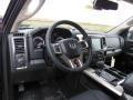 2013 1500 Laramie Quad Cab 4x4 Black Interior